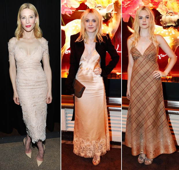 Cate Blanchett, Dakota e Elle Fanning (Foto: Getty Images)
