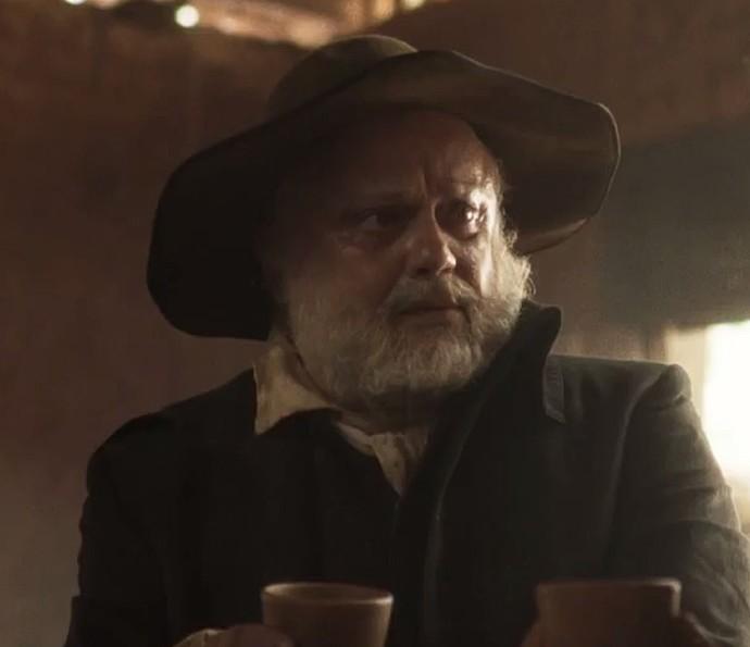 Mario Borges como Matias, pai de Xavier (Foto: TV Globo)