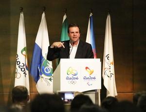 Eduardo Paes olimpiadas Encontro da Mídia Nacional Jogos Rio 2016 (Foto: Divulgação/Beth Santos)
