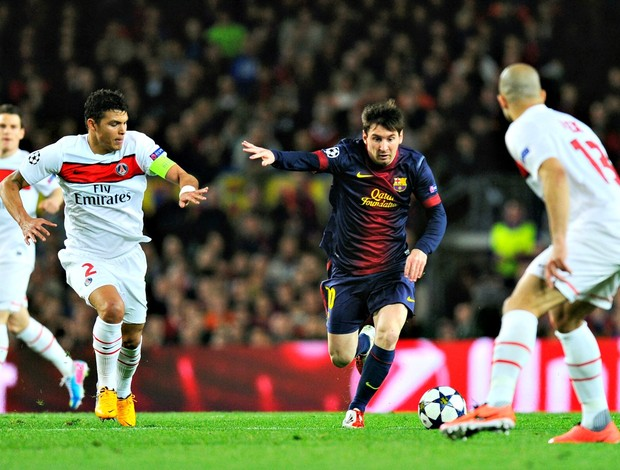 Lionel Messi Barcelona PSG Champions (Foto: Getty Images)