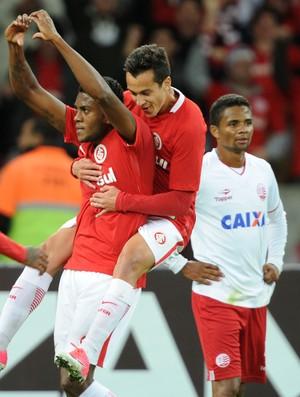 Marcelo Cirino gol Inter Internacional x Náutico