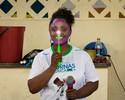 Ex-ginasta Daiane dos Santos visita comunidades ribeirinhas de Manaus