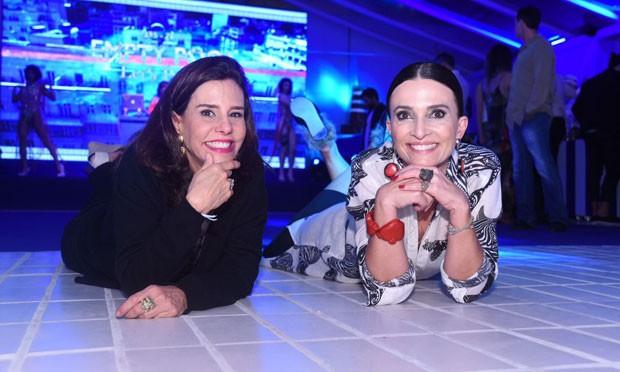 Narcia Tamborindeguy e Andrea Natal (Foto: Renato Wrobel)
