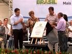 Em AL, Dilma Rousseff inaugura terceiro trecho do Canal do Sertão