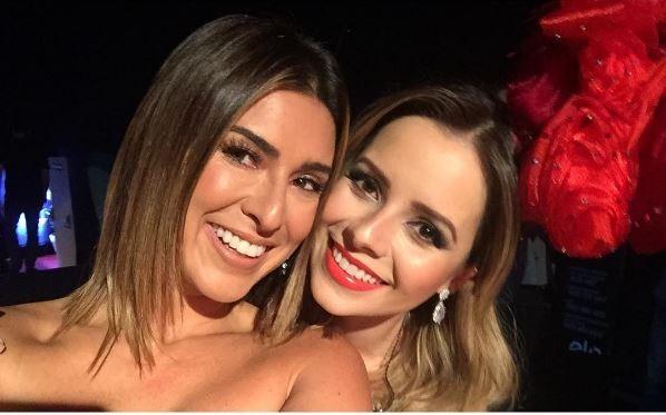 Fernanda Paes Leme e Sandy (Foto: Instagram / Reprodução)