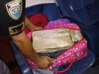 Polícia prende dupla com maconha em ônibus de turismo em Araçatuba