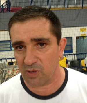 Morcego, Marcelo Duarte, treinador, técnico, futsal, Praia Clube, ala, fixo (Foto: Gullit Pacielle)