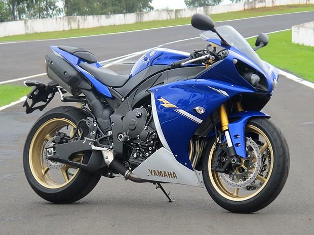 Yamaha YZF-R1 2013 (Foto: Rafael Miotto / G1)