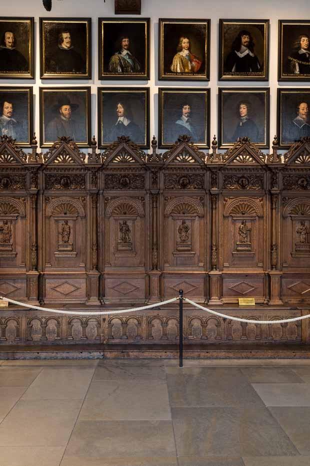 sala onde foram assinados os acordos de paz da guerra dos 30 e 80 anos (Foto: Divulgação)