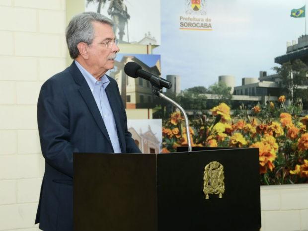 Prefeito Antonio Carlos Pannunzio ressaltou que a solidariedade faz a diferença no combate à dengue  (Foto: Emerson Ferraz)