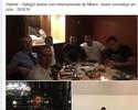 """Em rede social, agente de Gabigol dá o """"furo"""" do acerto com Inter de Milão"""