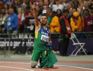 Paralimpíada Alan Fonteles Cardoso Oliveira 200 m (Foto: Agência Reuters)