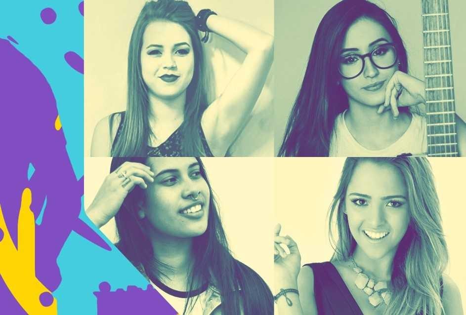 Mari Nolasco, Gabi Luthai, Ana Gabriela e Thayn Bittencourt (Foto: Foto: Divulgao)