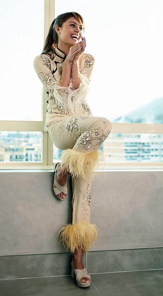 A atriz é formada em balé clássico, jazz e sapateado (Foto:  )