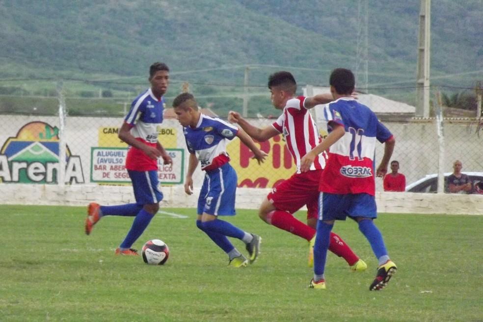 Jogo foi no estádio Vianão (Foto: Romário Silva / Ascom Afogados FC)
