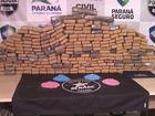 Denarc apreende maconha e quase  4 mil comprimidos de ecstasy no PR