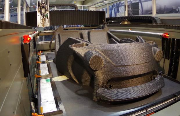 Strati, carro feito por uma empressora 3D pelo Local Motors (Foto: Divulgação)