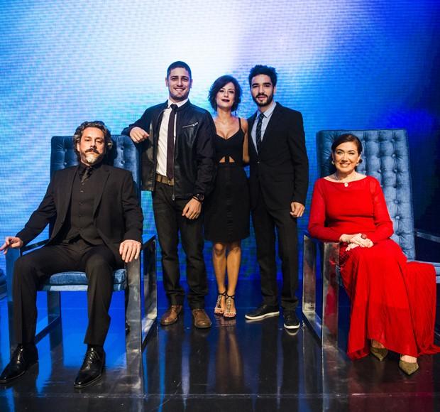 A Globo concorre na categoria Melhor Novela com Império, de autoria de Aguinaldo Silva e direção de núcleo de Rogério Gomes (Foto: CEDOC Globo)
