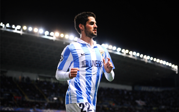 Isco Málaga (Foto: Getty Images)