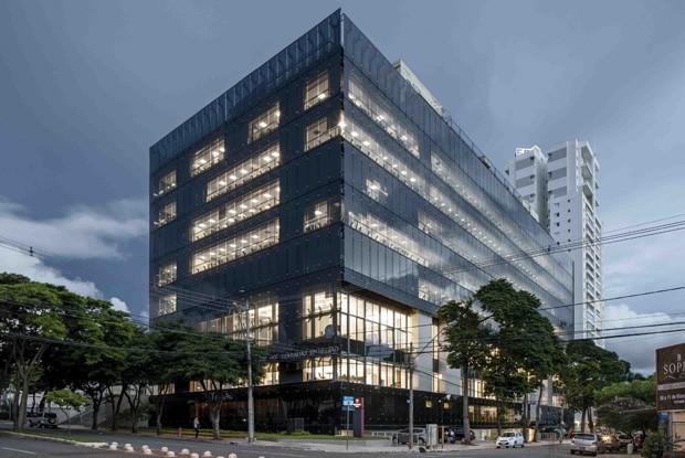Tribunal Reginal do Trabalho, Goiânia, 2007/2012, Corsi Hirano (Foto: Leonardo Finotti)