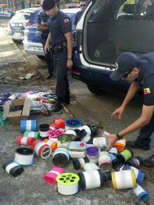 GCM faz operação contra uso de cerol em Sorocaba (Foto: Divulgação / GCM)
