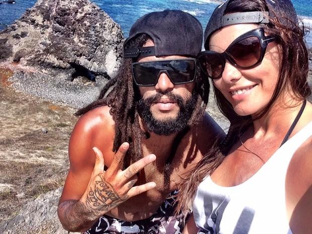 Diana Bouth e Rafael Batoré  (Foto: Arquivo Pessoal)