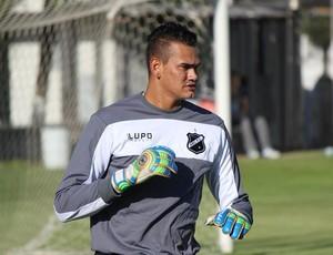 Saulo, novo goleiro do ABC (Foto: Marcelo Montenegro)