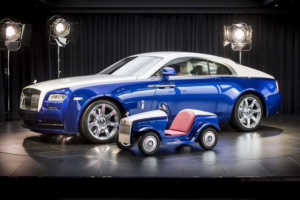 Rolls Royce desenvolve mini carro elétrico para crianças (Foto: Divulgação)
