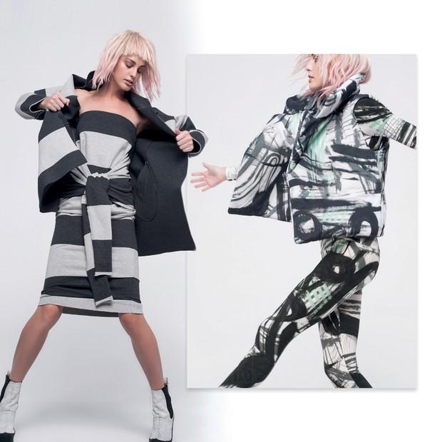 c2bb6926402 Norma Kamali  A americana faz desde os anos 70 roupas de moletom para o dia