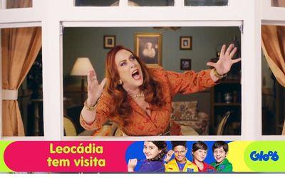 Leocádia tem visita
