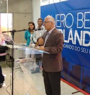 Manoel Luiz Oliveira, presidente da Confederação Brasileira de Handebol (CBHb) (Foto: Gullit Castro)