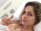 Ex-BBB Renatinha troca a prótese de silicone dos seios