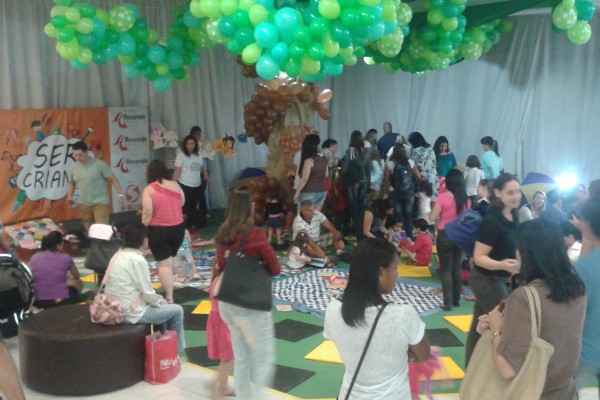 'Ser Criança' aconteceu neste sábado em Resende (Foto: Camen Aguiar)