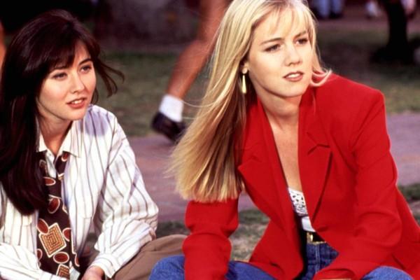 As atrizes Shannen Dogerty e Jennie Garth (Foto: Reprodução)