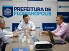 Gean Loureiro e Cesar Souza voltam a debater situação da prefeitura