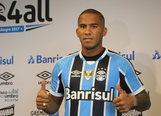 Jael Grêmio (Foto: Eduardo Moura/GloboEsporte.com)