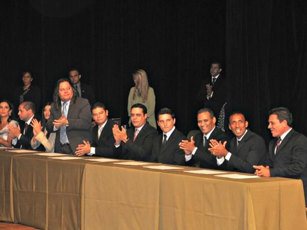Veradores eleitos em 2012 (Foto: Maressa Mendonça/ G1 MS)