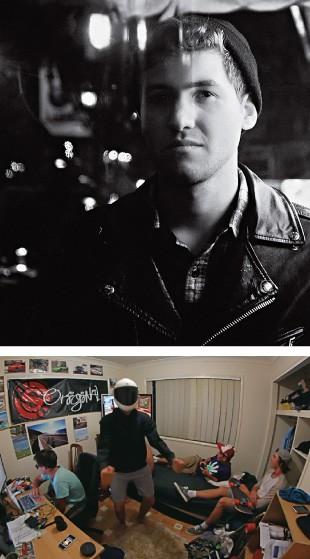 """NOVA DANÇA O DJ americano Baauer (acima). Ele deve a fama aos jovens australianos abaixo, pioneiros do hit """"Harlem shake"""" na web (Foto: Divulgação)"""