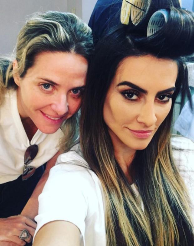 Cleo Pires e Piny Montoro (Foto: Reprodução)
