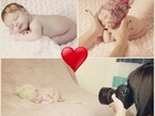 Sheila Mello posta fotos de ensaio da filha: 'Show de fofurice'