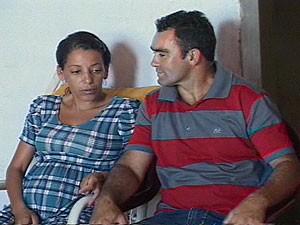 Paraibana está grávida de quintuplos  (Foto: Reprodução/TV Paraíba)