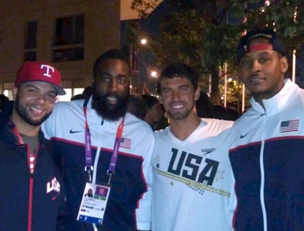 Ricky Berens tieta seleção americana de basquete (Foto: Reprodução / Twitter)