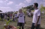 Angélica conhece projeto que cultiva áreas verdes em São Paulo