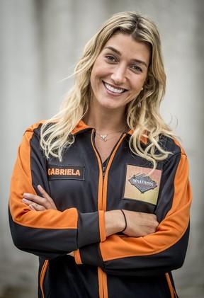 Gabriela Pugliesi é a uma das participantes do quadro Desafiados, do Caldeirão do Huck (Foto: Globo/João Cotta)