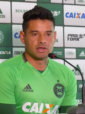 César Benítez Coritiba (Foto: Monique Silva)
