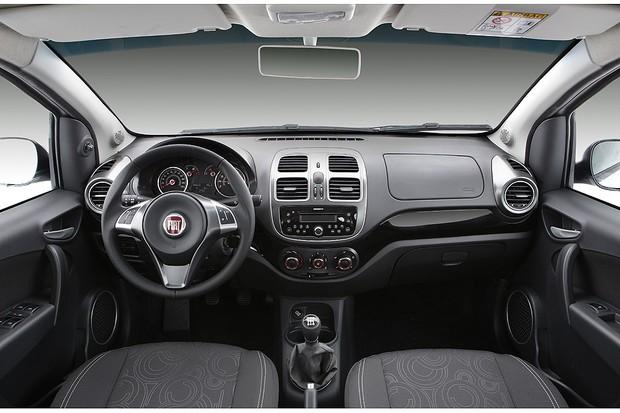 Fiat Grand Siena 1.0 Attractive (Foto: Divulgação)