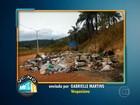 Telespectadora registra despejo irregular de lixo na Grande BH