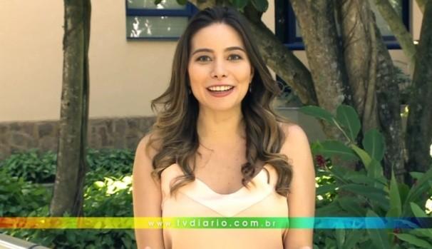 Marcela Monteiro tem um recado para você  (Foto: Reprodução / TV Diário)
