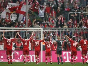 O Bayern de Munique, clube alemão, em foto de 2007 no Allianz Arena: estádio construído para Copa de 2006 é o mais utilizado (Foto: Oliver Lang/DDP/AFP)