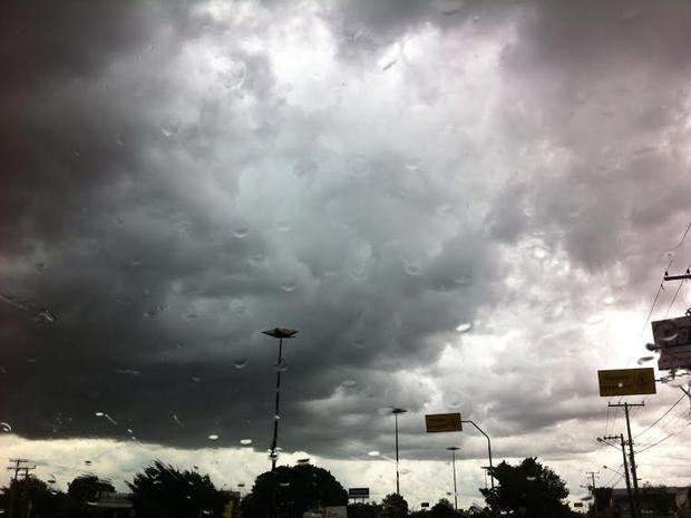 Céu fica nublado nesta sexta (5), segundo Inmet (Foto: Luan Saraiva / G1 MS)